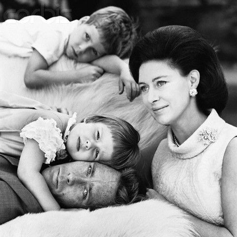Hrh The Princess Margaret Countess Of Snowdon And Her Husband