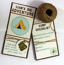 """adventure, campout, outdoors, camp, great outdoors / Birthday """"Liam's Big Adventure - 9th Birthday"""" 