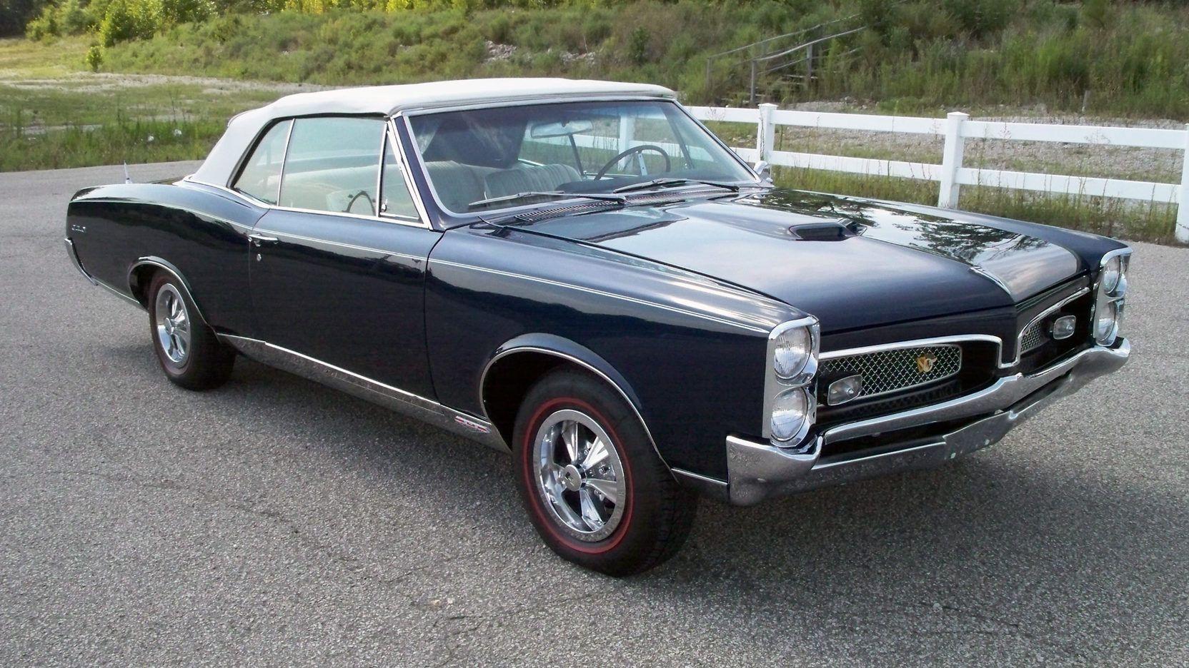 1967 Pontiac Gto Convertible 1 Print Image Pontiac Gto Pontiac Gto