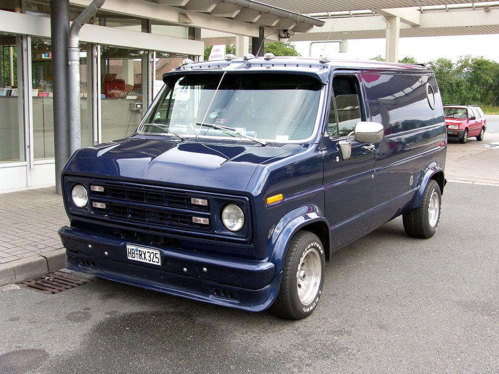 1976 Ford Econoline E150 Passenger Ford Van Custom Vans