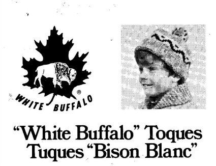 Cowichan White Buffalo Wool Hat Pattern 11 Designs by