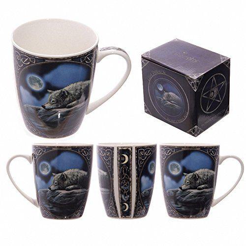 LISA PARKER HIS MASTERS VOICE NEW BONE CHINA COFFEE//TEA MUG NEW IN GIFT BOX