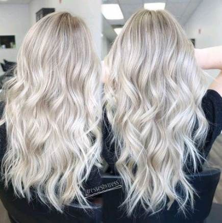 Trendy hair color blonde platinum highlights 23 ideas #platinumblondehighlights