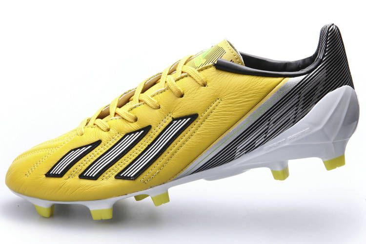 9bfc6c9ba Best Adidas F50 Adizero TRX FG TPU Mens Boots G16998 Sale Yellow Black White