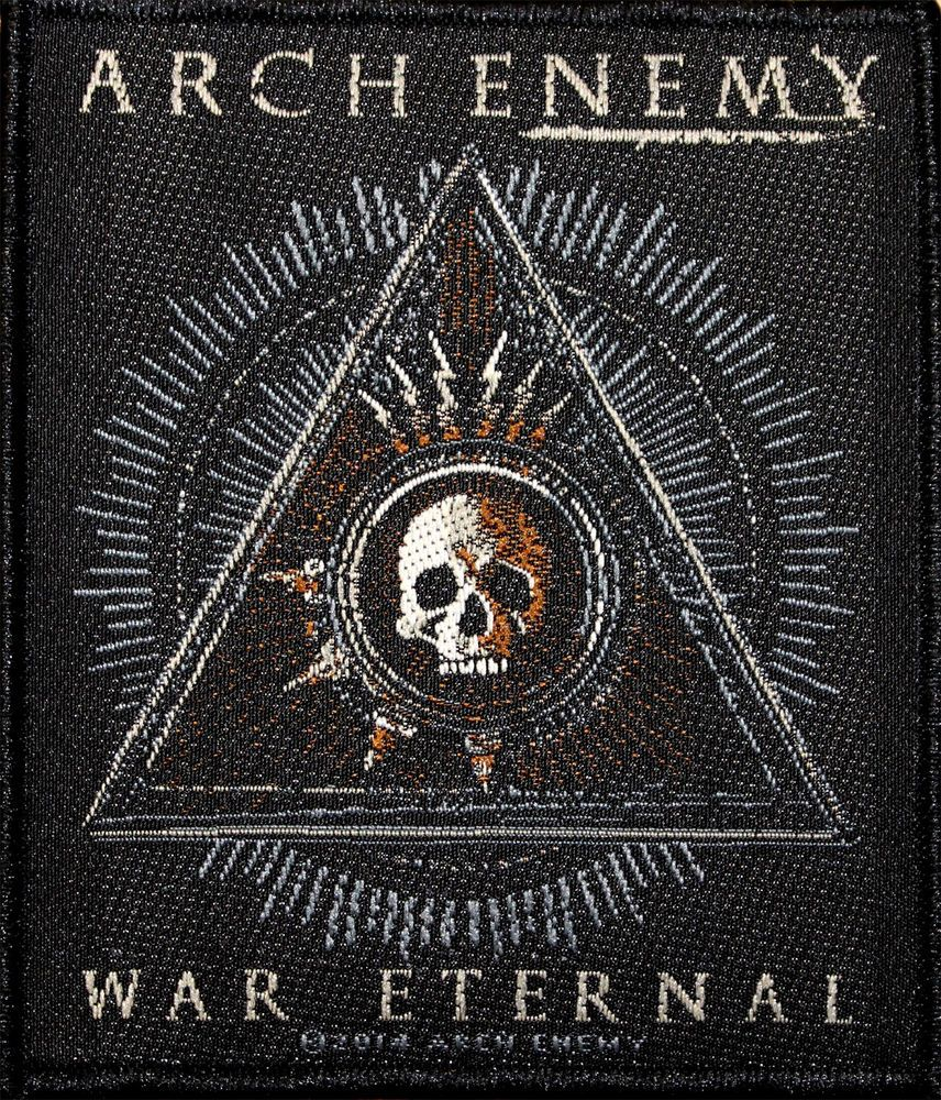 ARCH ENEMY - AUFNÄHER *THIS IS FUCKING WAR* - PATCH GEWEBT MELODIC DEATH  METAL