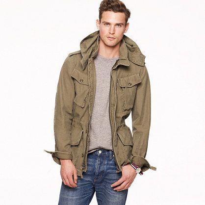 Fatigue jacket J.CREW Men style