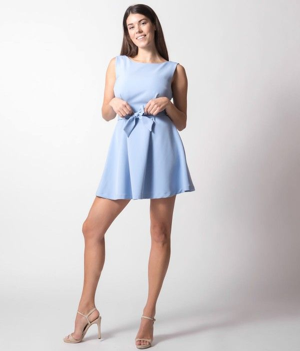 957d28958c60 Σακάκι Μίνι Φόρεμα με Χρυσά Κουμπιά - Μπλε-Navy