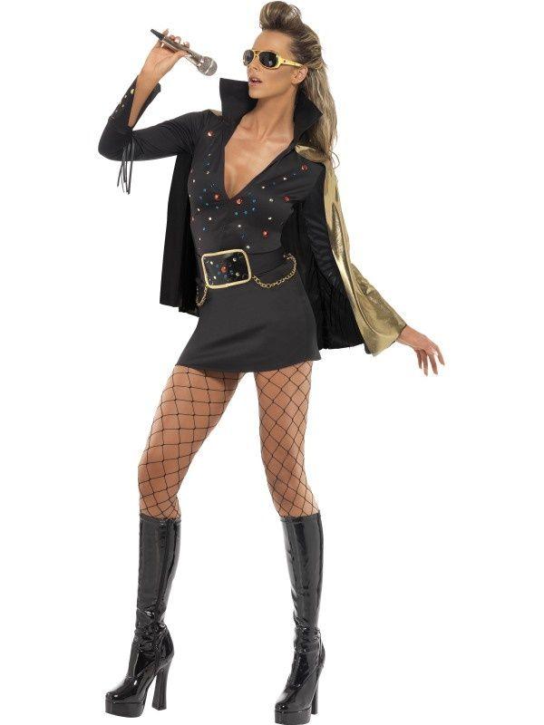 Kostium Damski Elvis Viva Las Vegas S Elvis Costume Fancy Dress Costumes Las Vegas Costumes