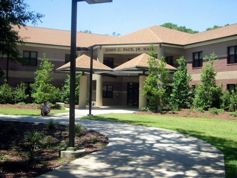 Pace Hall was my first home at UWF.