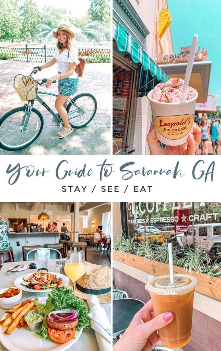 The Ultimate Weekend Travel Guide to Savannah, Georgia - Where to eat, where to stay, and what to do! - Simply Taralynn #savannah #savannahtravel #savannahtips #travel #traveldestinations #travelideas #traveltips #savannahtips