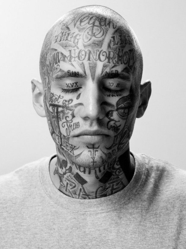 0ec27d0ec 45 Tough Prison Style Tattoos and their Meanings - Most Widely Types http://