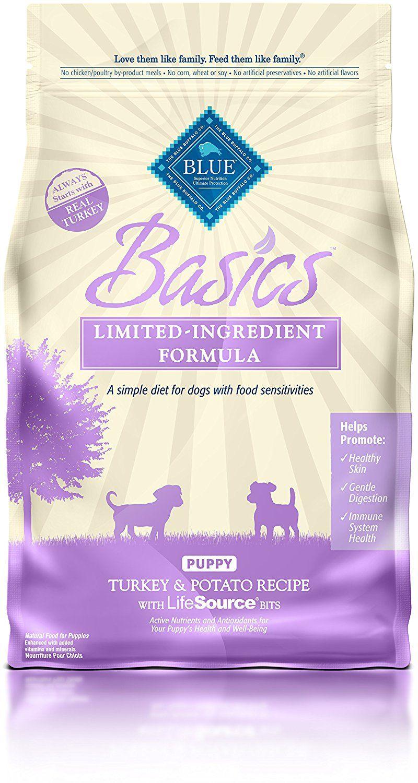 Blue buffalo basics limitedingredient dry puppy food