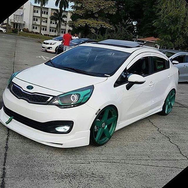 Repost From Tuning Girls507 Owner Tai 0303 Kia Kia Rio Kia Motors