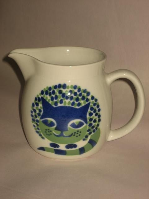 Arabia Finland Kaj Franck Cat Pitcher