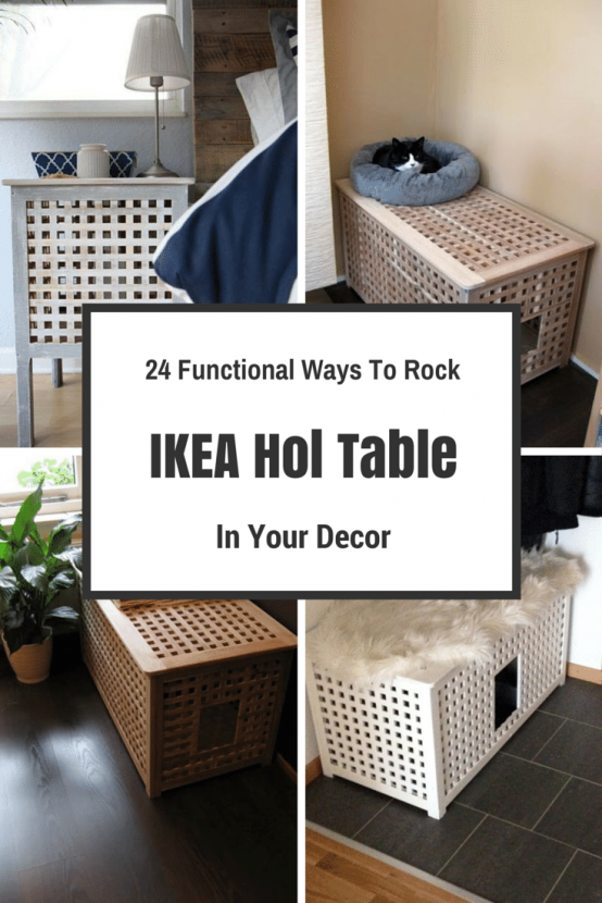 24 Functional Ways To Rock Ikea Hol Table In Your Decor Ikea Stuff