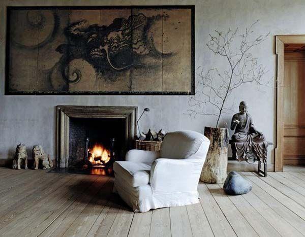 Japanese Wabi Sabi style interiors!