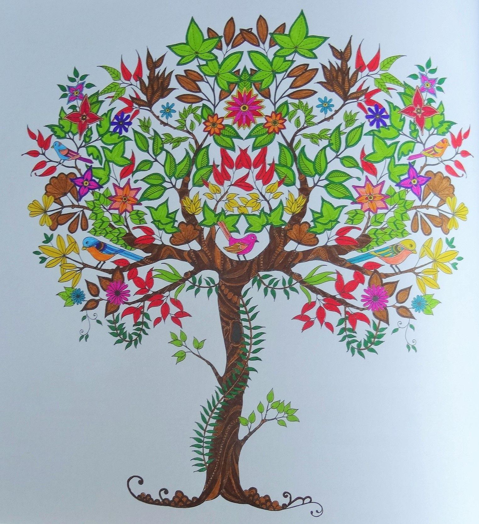 Épinglé par Les Mercredis de Julie sur Coloriages Art thérapie en 2019 | Coloriage jardin secret ...