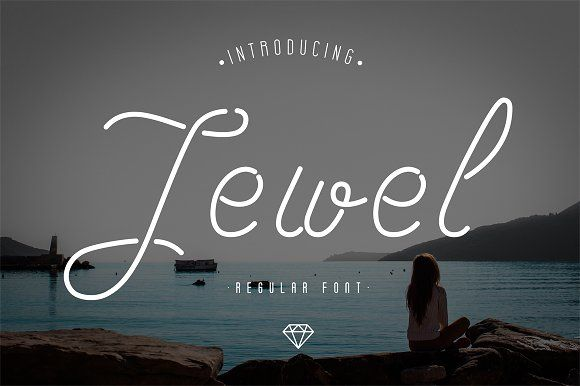Download Jewel Font by Alex Blogoodf on @creativemarket | Best free ...