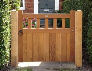 Beau Wooden Garden Gates U2026