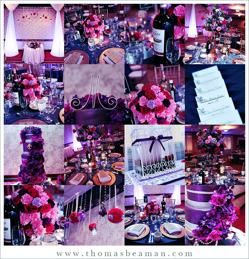 purple wedding ideas | Deep purple and pink? - Project Wedding ...