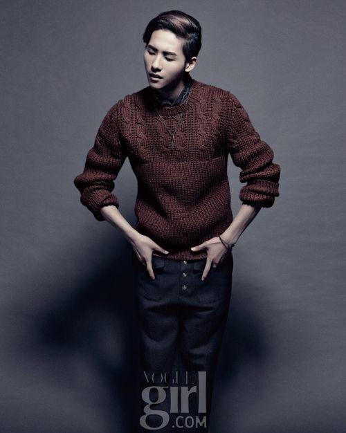 B1A4's CNU // Vogue Girl Korea // September 2012