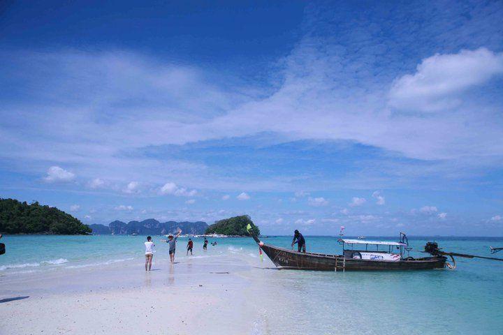 The sea of Krabi, Thailand