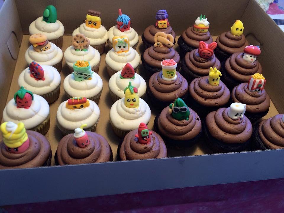 Shopkin Cupcakes Shopkins Birthday Shopkins Birthday Party Shopkins Party Favor
