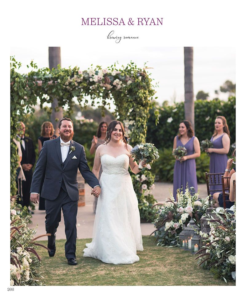 Wedding Flowers By Annette: Melissa & Ryan Ceremony California Spring/Summer 2018 P266