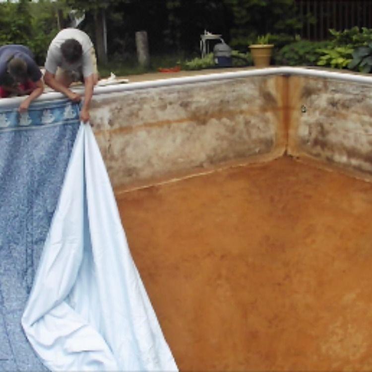 Diy replacing a vinyl pool liner swimming pool liners