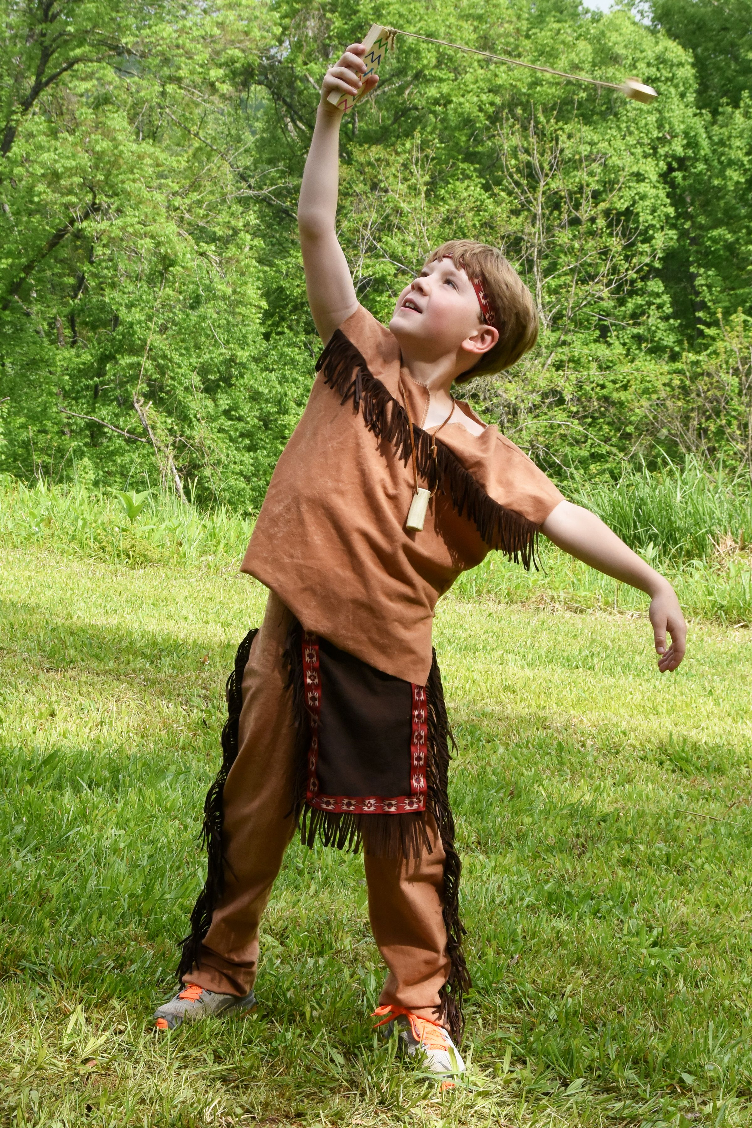 2nd Grade Native American Day