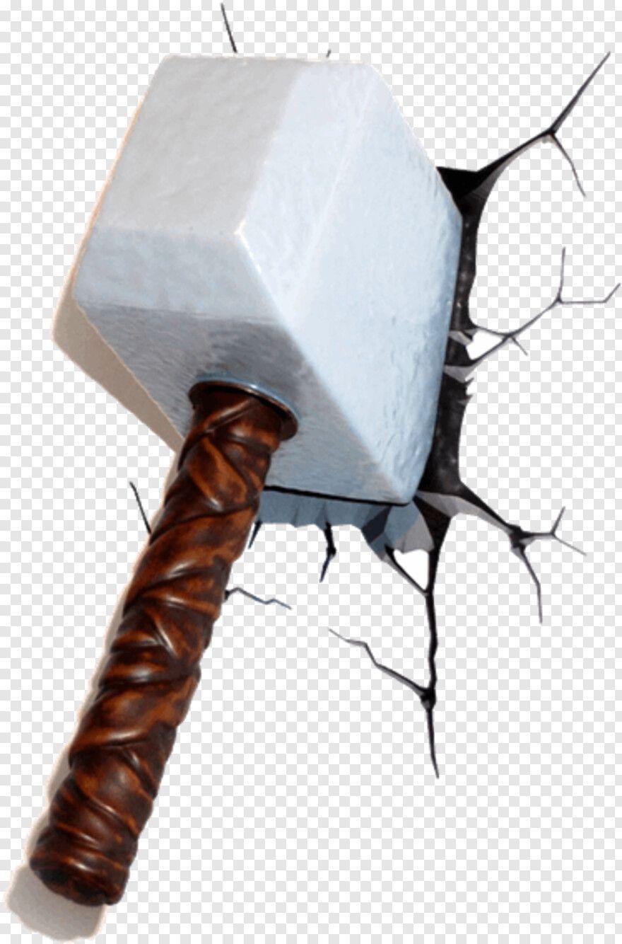Thors Hammer Marvel 3d Deco Wall Light Thor Hammer Hd Png Download Thor S Hammer Marvel Hammer Marvel Wall Deco