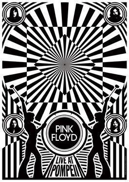 PINK FLOYD 1972 Live at Pompeii - live show artstic concert concept poster - manifesto artistico concerto - locandina. €15,00, via Etsy. #concerts #concertvideos #Concert #PinkFloyd #Pink_Floyd