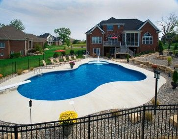 free form vinyl pools  Freeform pool | Free Form Vinyl Liner Swimming Pool ...
