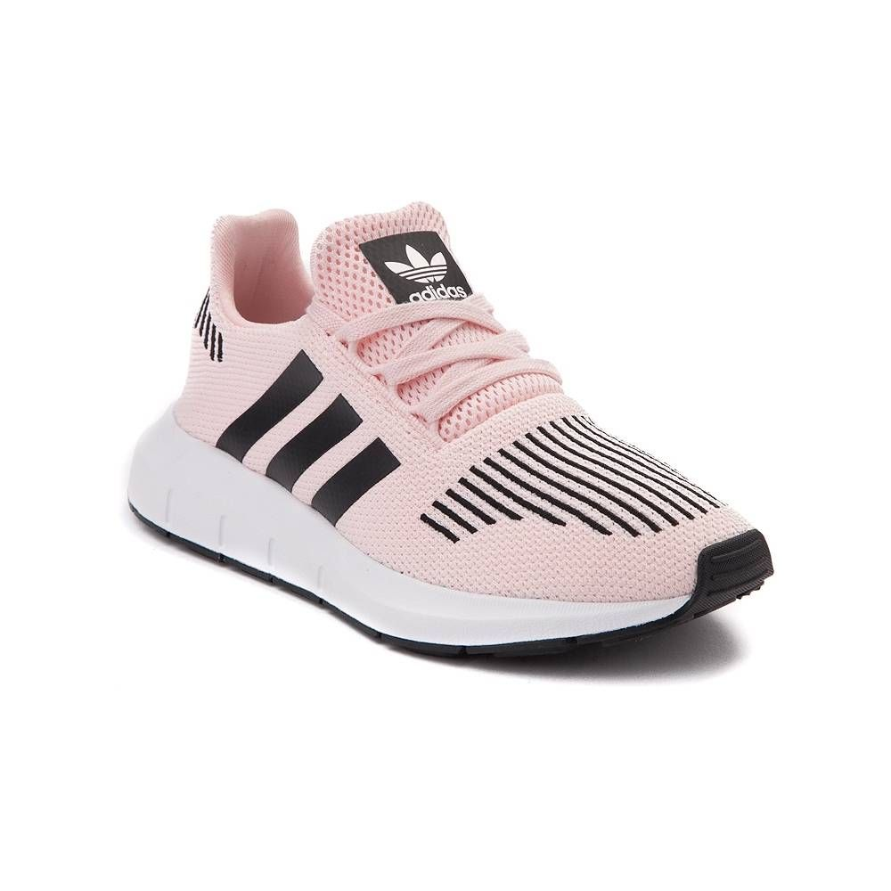 830dd64a4deec1 Tween adidas Swift Run Athletic Shoe - Ice Pink/Black - 1436344 $64.95
