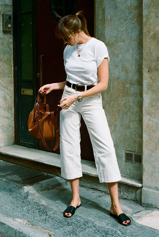 8 All White Outfits To Start Thinking About Warmer Days | Be Daze Live
