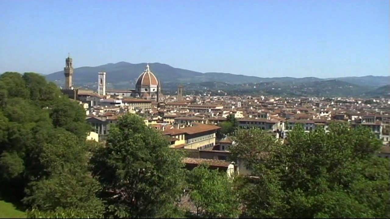 Firenze Il Parco Bardini Una Terrazza Verde Sulla Città