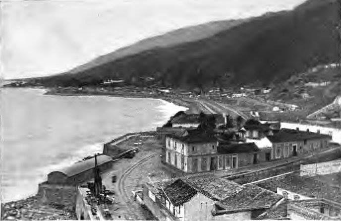 La Guaira desde el Faro que se construyó en la época de Guzmán Blanco.En el año de 1896....