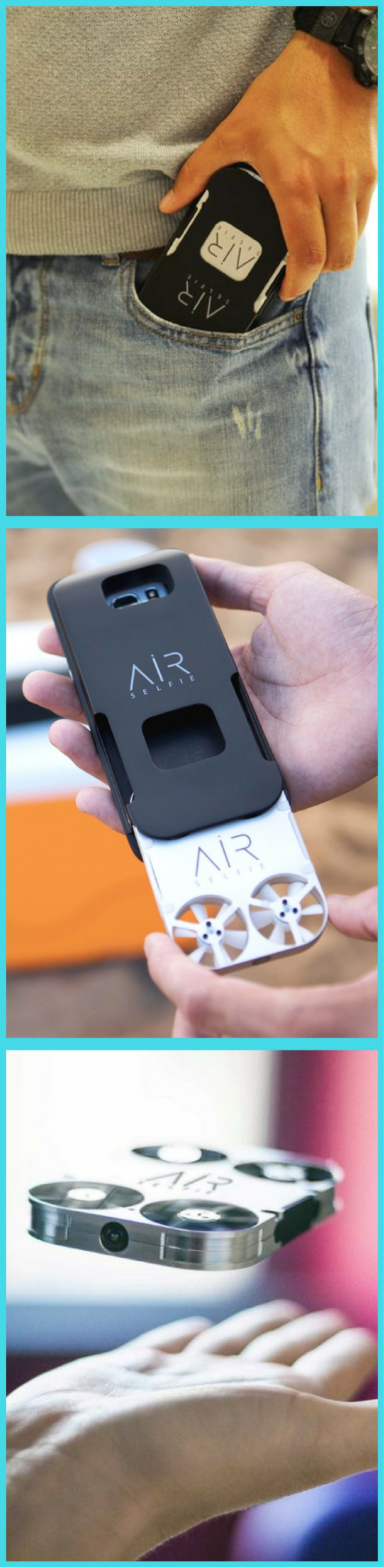 AirSelfie is Here! Take your #airselfie anywhere and everywhere you go! Its the size…