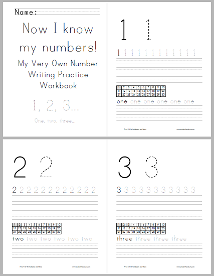 Numbers Writing Workbook For Kids Alphabet Writing Practice Writing Practice Worksheets Alphabet Writing