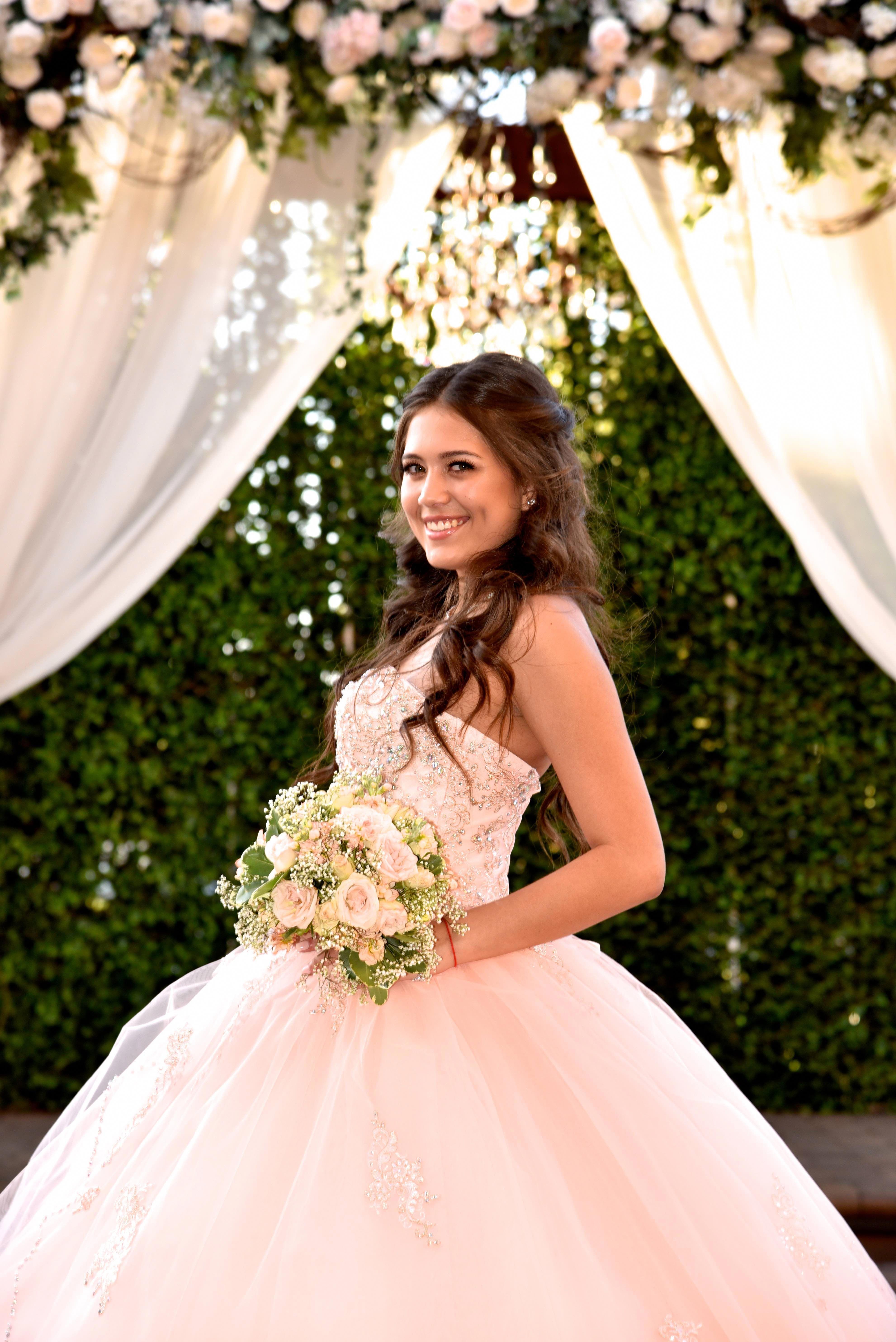 Versatile Quinceanera Dresses Look Here Quinceanera Dresses Pink Quinceanera Dresses Quinceanera Hairstyles