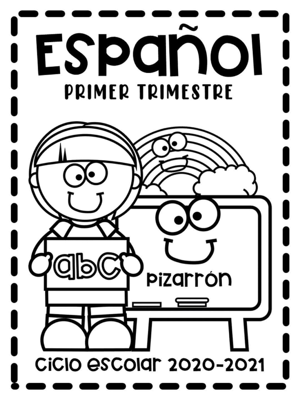 Pin De Saily Aida Alvarez Valdez En Actividades Para Preescolar En 2020 Dibujos Para Preescolar Caratulas Para Cuadernos Escolares Actividades Escolares