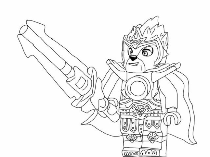 lego coloring pages chima