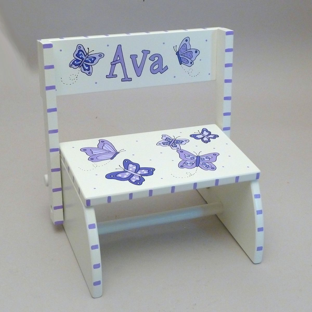 Our personalized small white step stool is our 1 baby gift at our personalized small white step stool is our 1 baby gift at neat stuff gifts negle Image collections