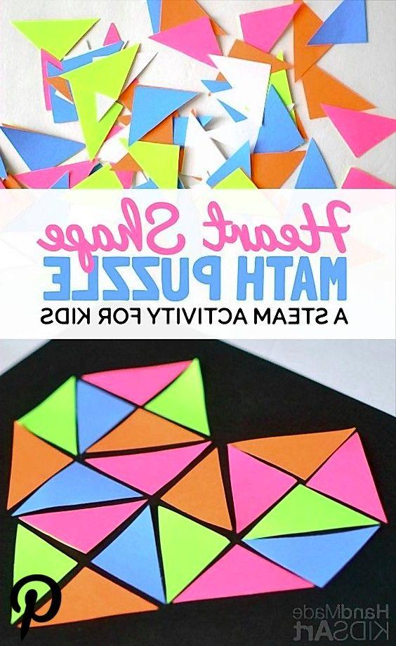 A Heart Shape Math Puzzle A Heart Shape Math Puzzle