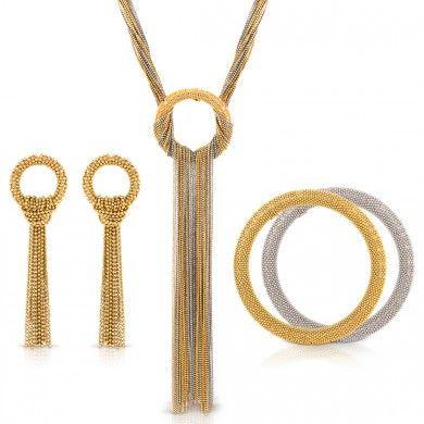 Lena Zeitouni Signature Combo مجوهرات قناة سيتروس Matching Necklaces Jewelry Earrings