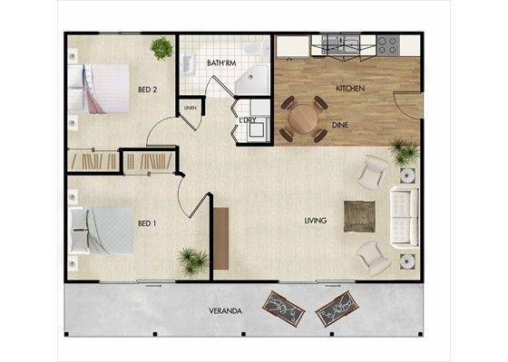 Resultado De Imagen De Best Flat Design Apt 70 M