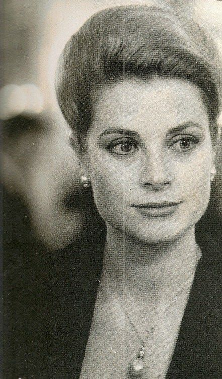 Princess Grace could wear her hair so many different ways ...