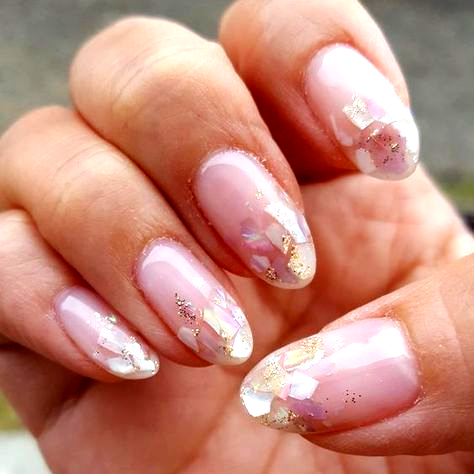 33 best ideas nails fall acrylic almond short in 2020