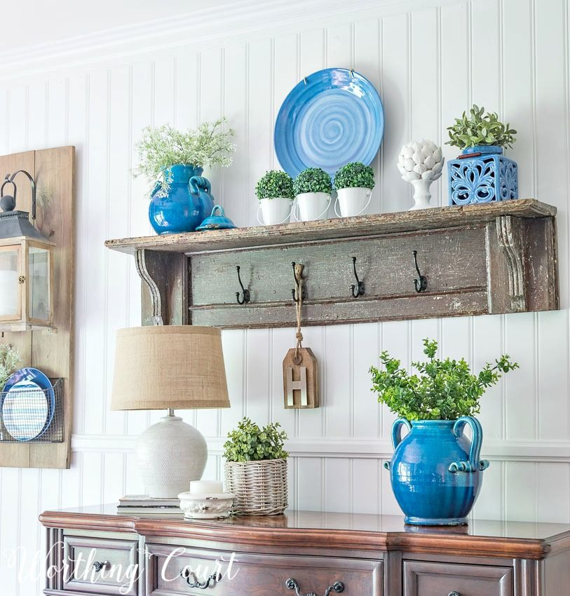 My Late Spring Early Summer Farmhouse Dining Room | Pinterest