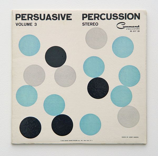 album cover by Josef Albers (c.1960)